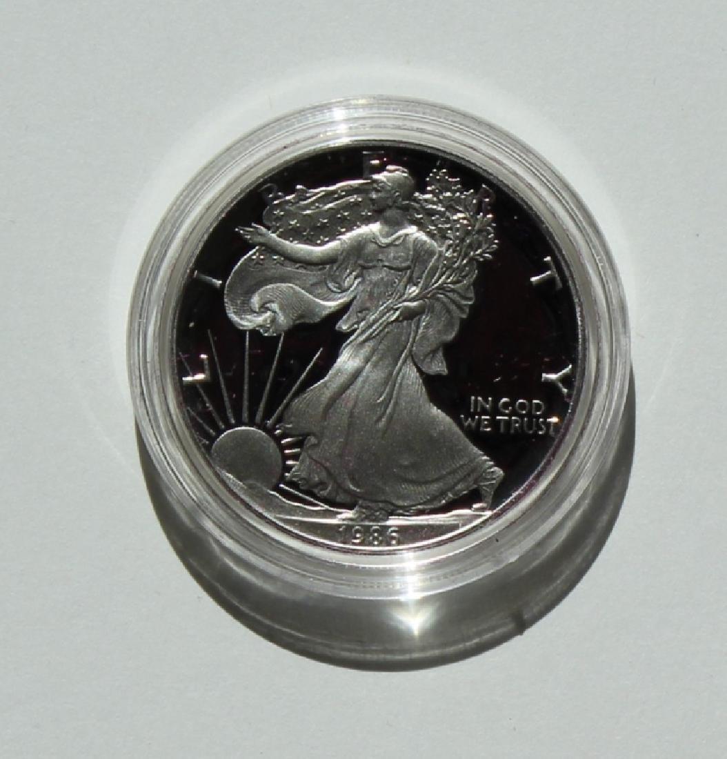 1986  Silver American Eagle Proof