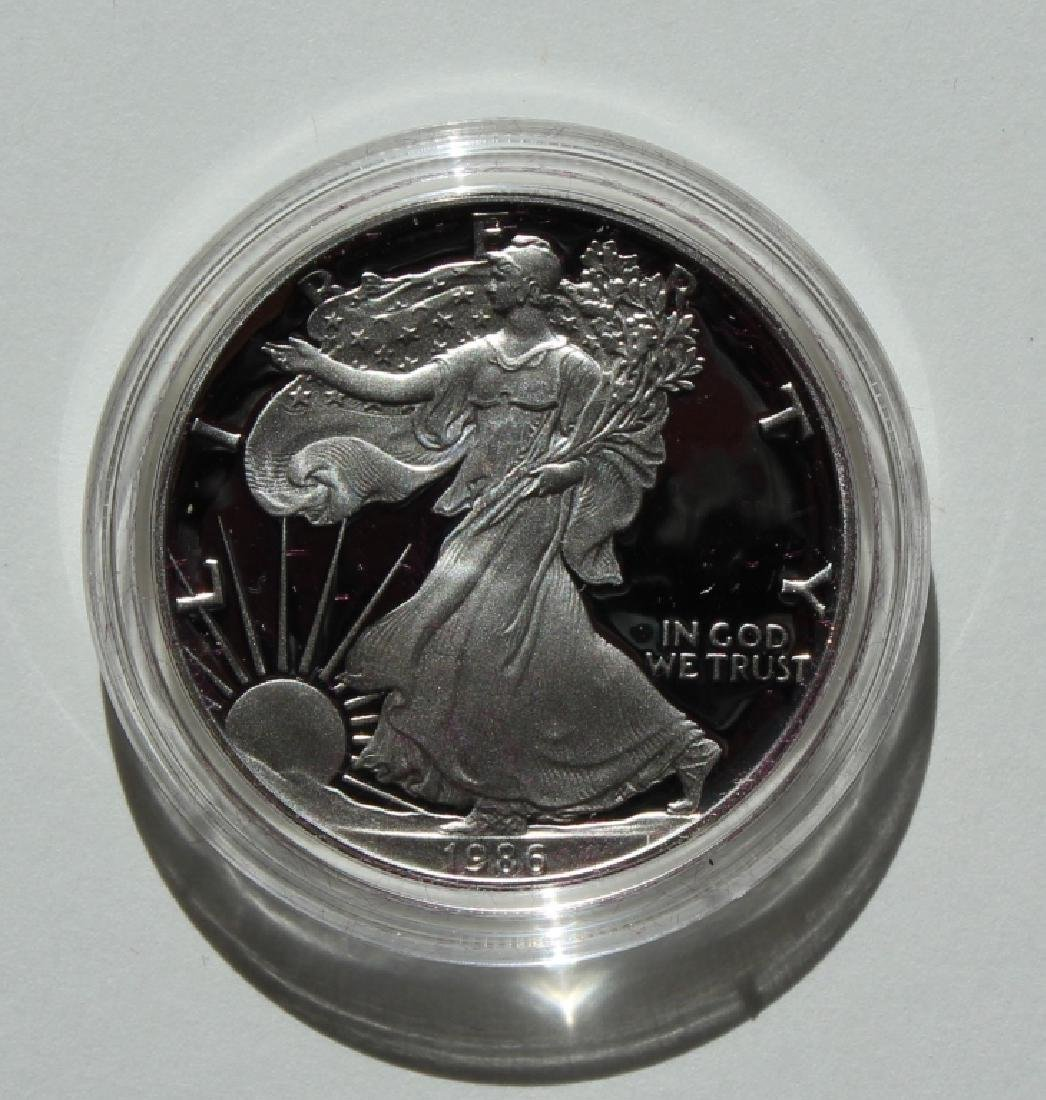 1986  Silver American Eagle Proof - 3