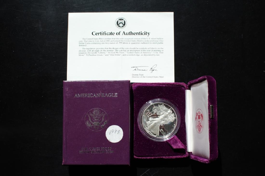 1988 Silver American Eagle Proof - 4