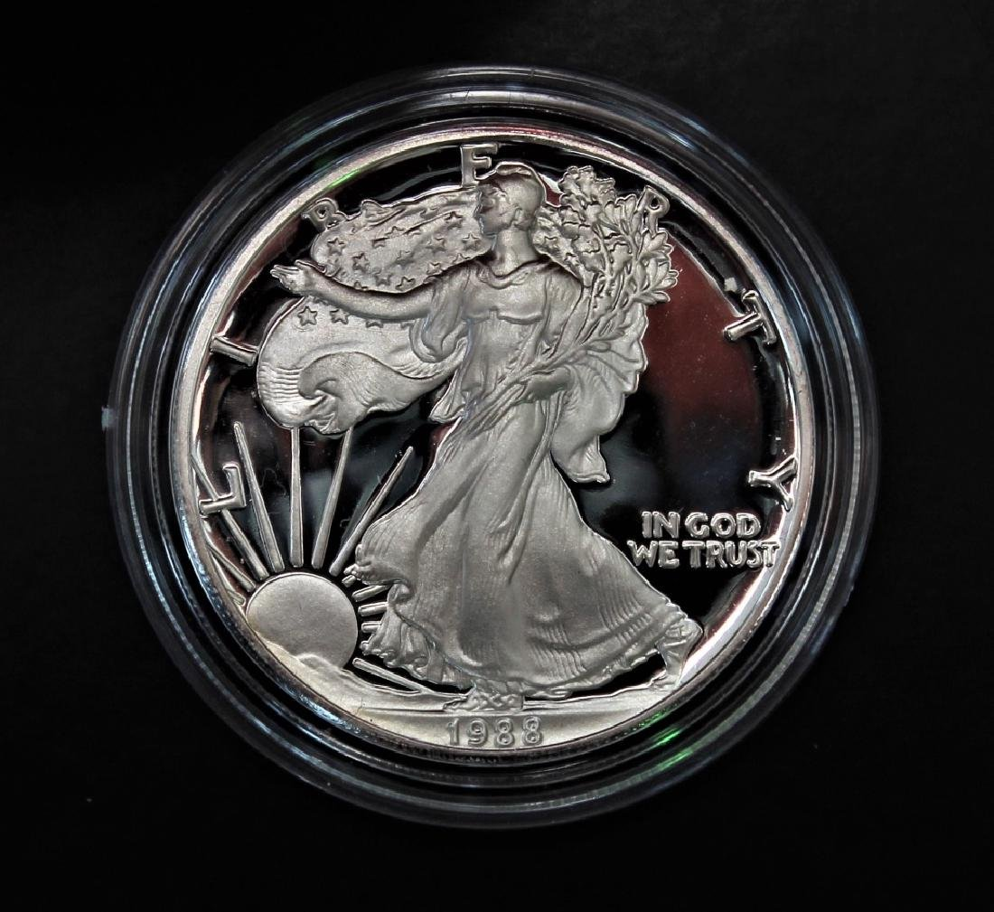 1988 Silver American Eagle Proof - 5