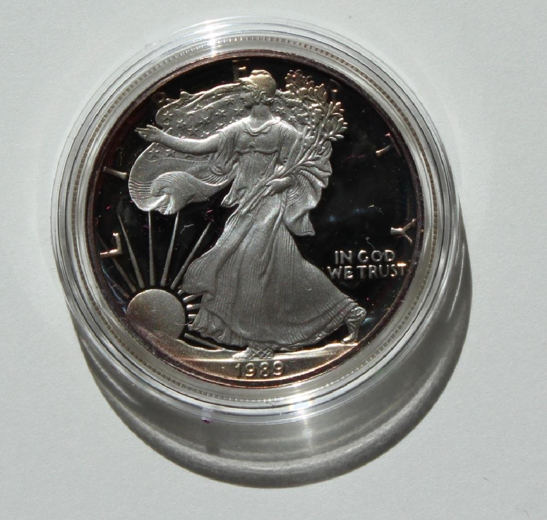 1989 Silver American Eagle Proof