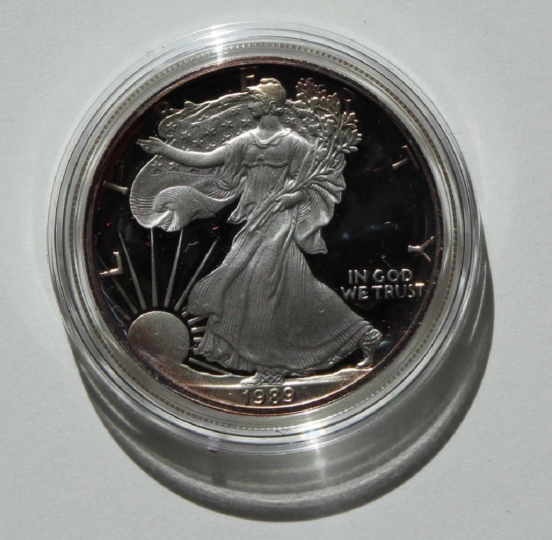 1989 Silver American Eagle Proof - 2