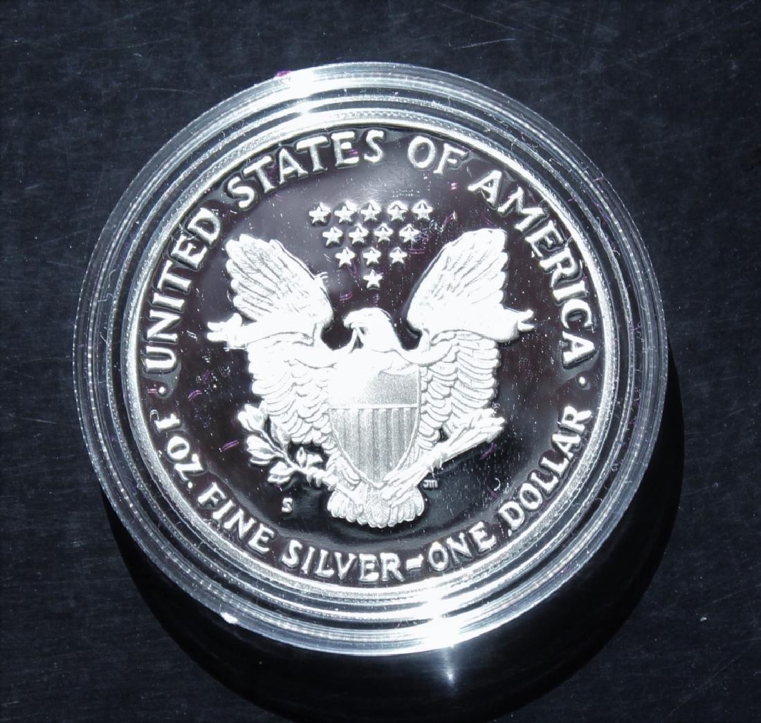 1989 Silver American Eagle Proof - 4