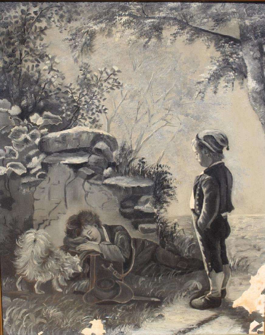 Unsigned (19th/20th Century) The Little Runaway