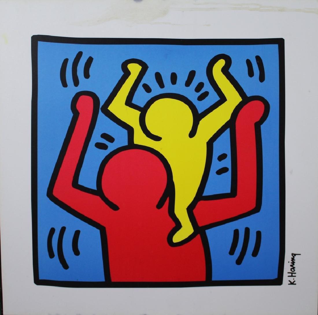 Keith Haring (American 1958-1990)