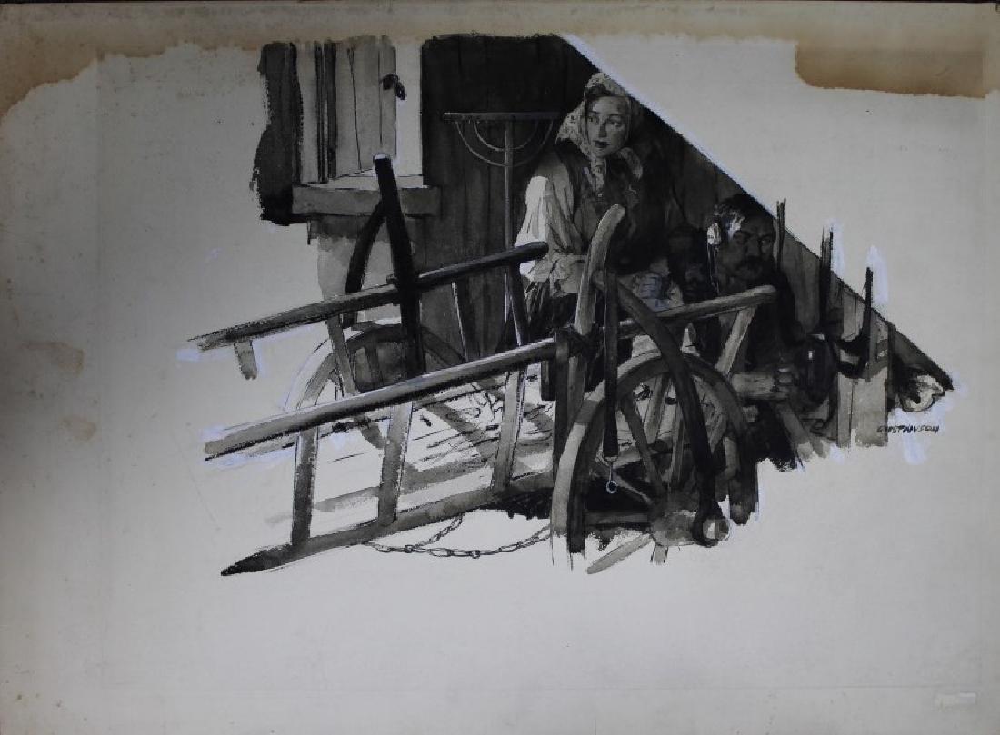 Leland Gustavson (American 1894-1966) Illustrator - 4