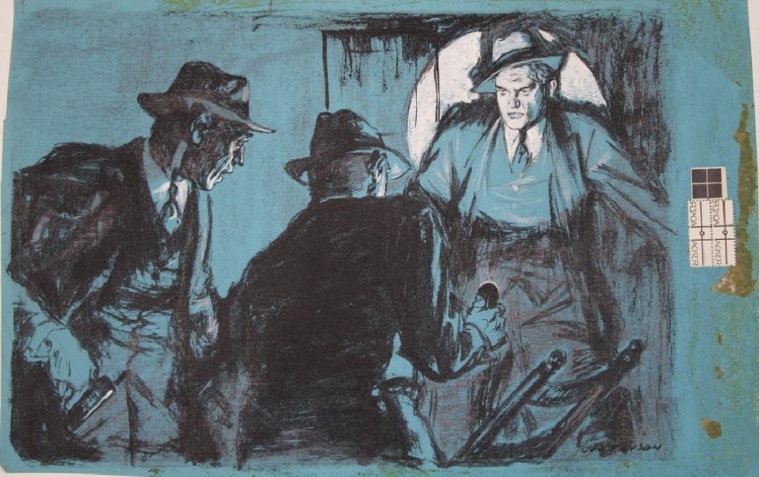Leland Gustavson (American 1894-1966) Illustrator