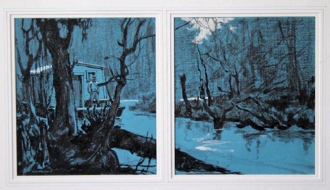 Leland Gustavson (American 1894-1966) Illustrator - 7