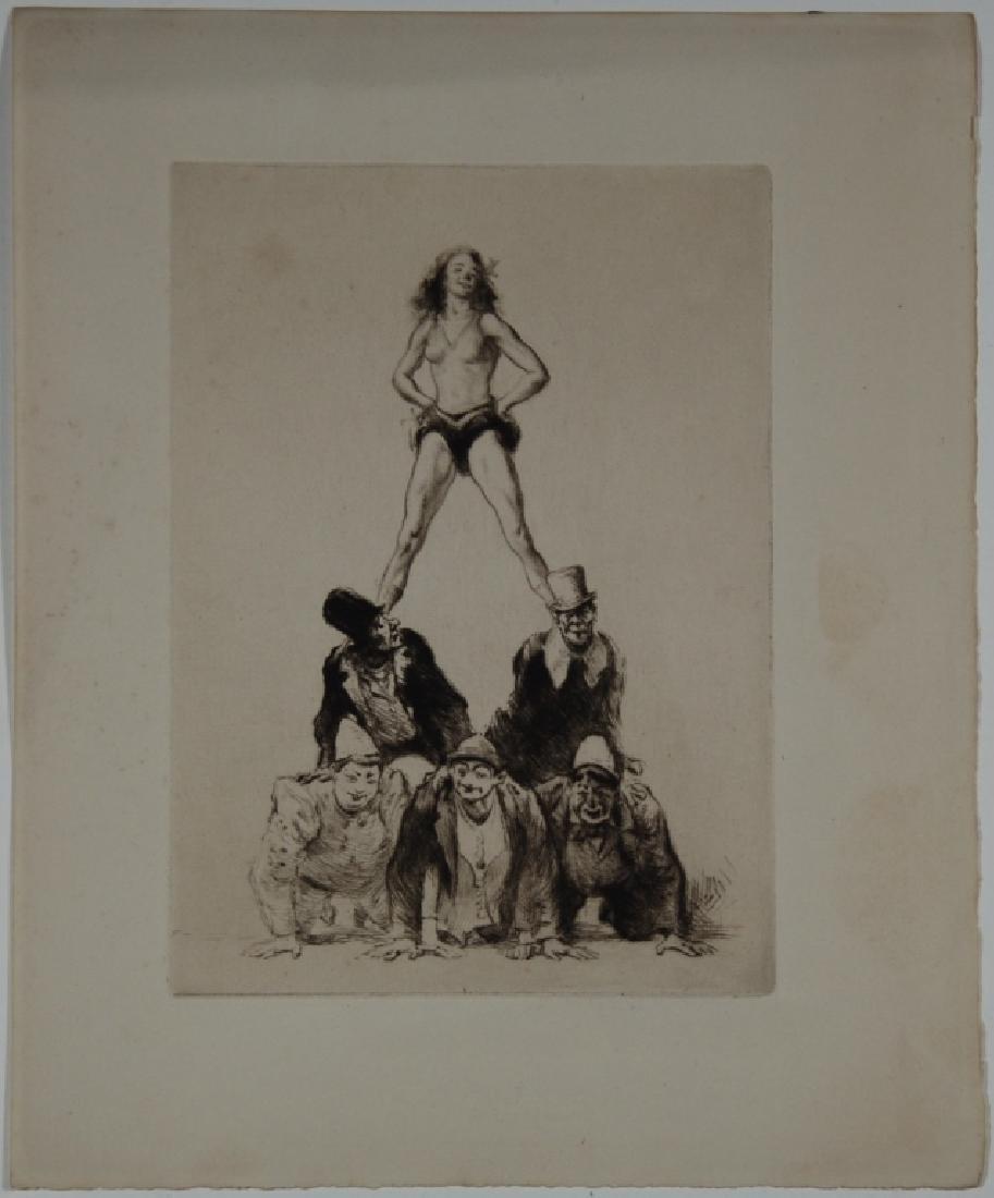 Circus Performers - 2