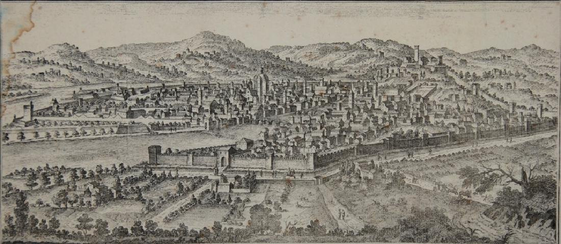 Florence, old Map