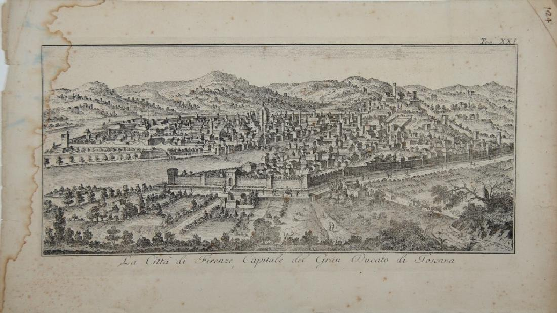 Florence, old Map - 2
