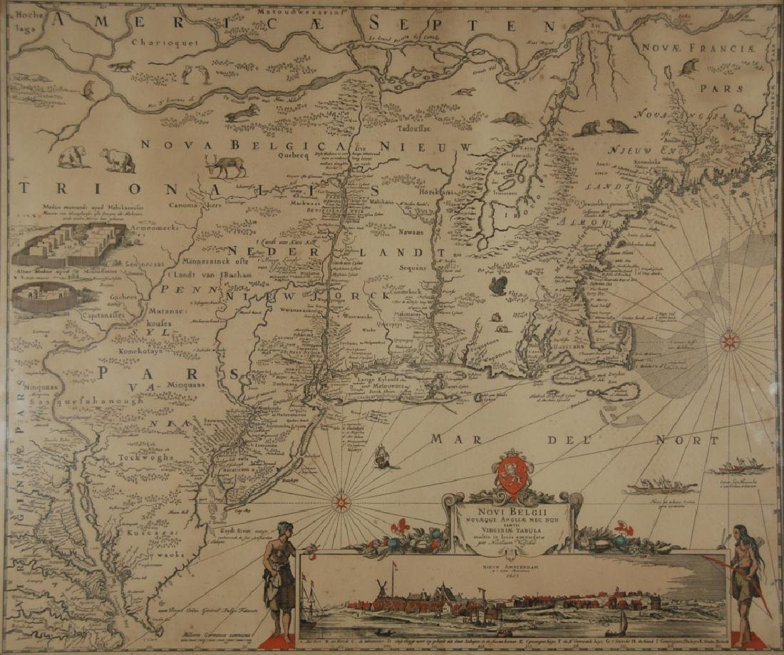 Nicolaes Visscher I (1618-1679) map