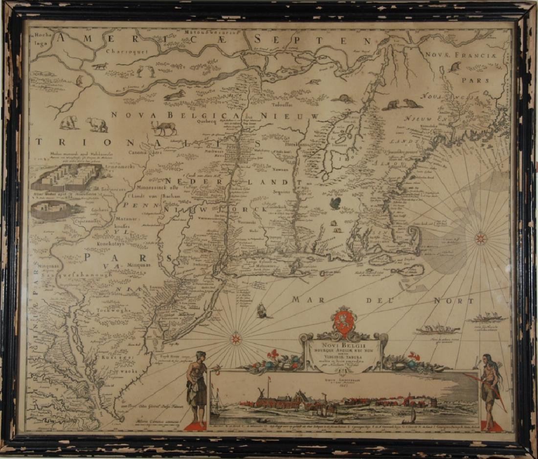 Nicolaes Visscher I (1618-1679) map - 2