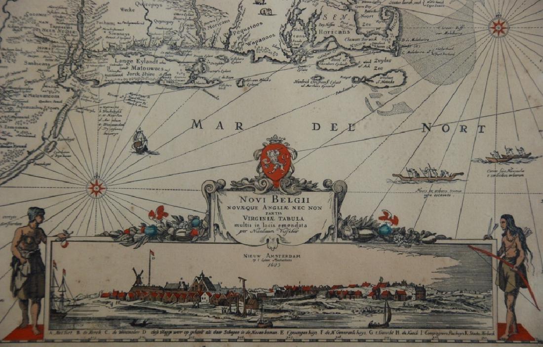 Nicolaes Visscher I (1618-1679) map - 4