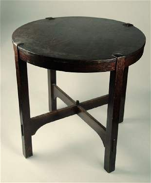 Stickley Center Table, Arts and Crafts