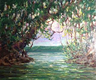 "Harry Hoffman, British Guiana, ""Cuyuni River"""
