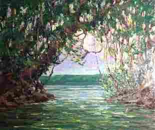 "Harry Hoffman, British Guiana, ""Cuyuni River"""