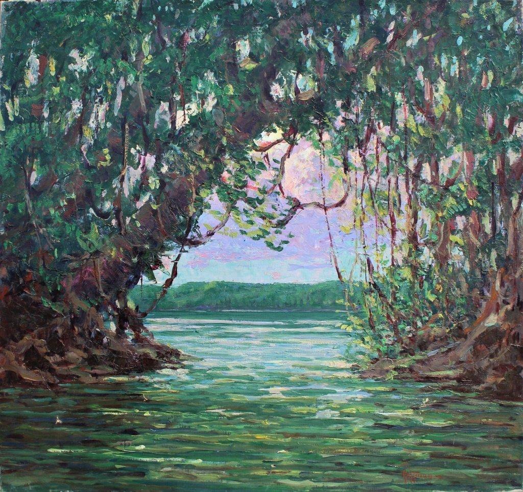 "Harry Hoffman, British Guiana, ""Cuyuni River"" - 2"