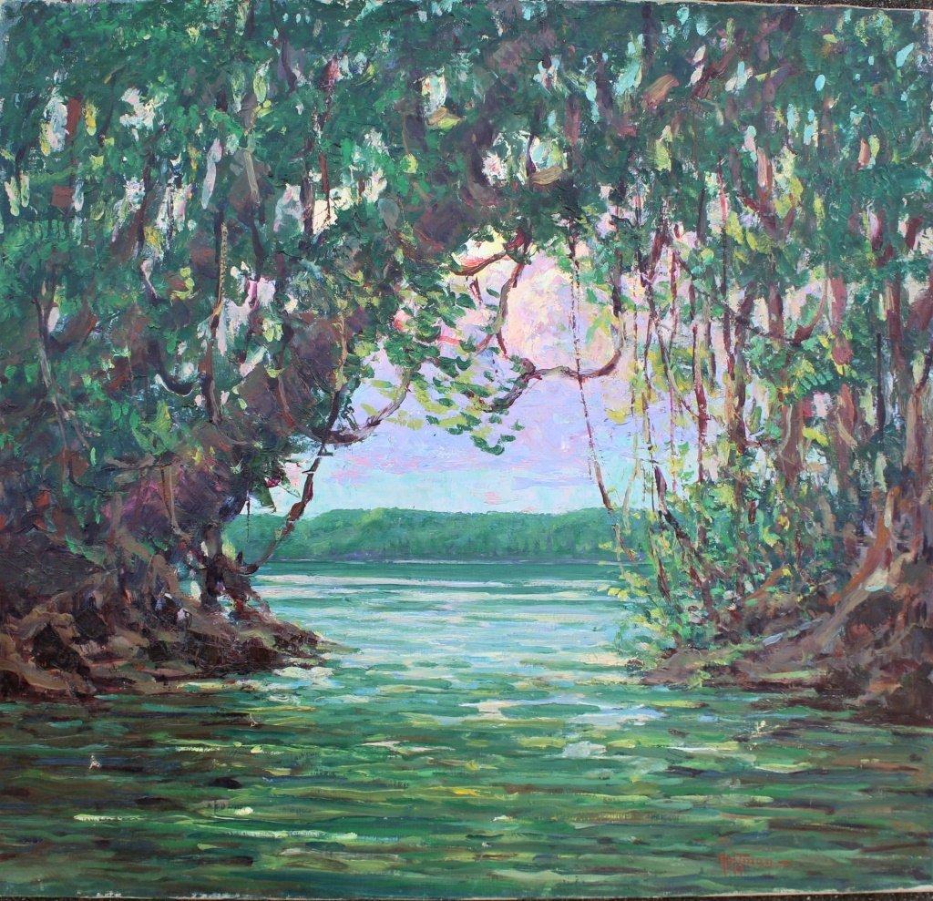 "Harry Hoffman, British Guiana, ""Cuyuni River"" - 3"