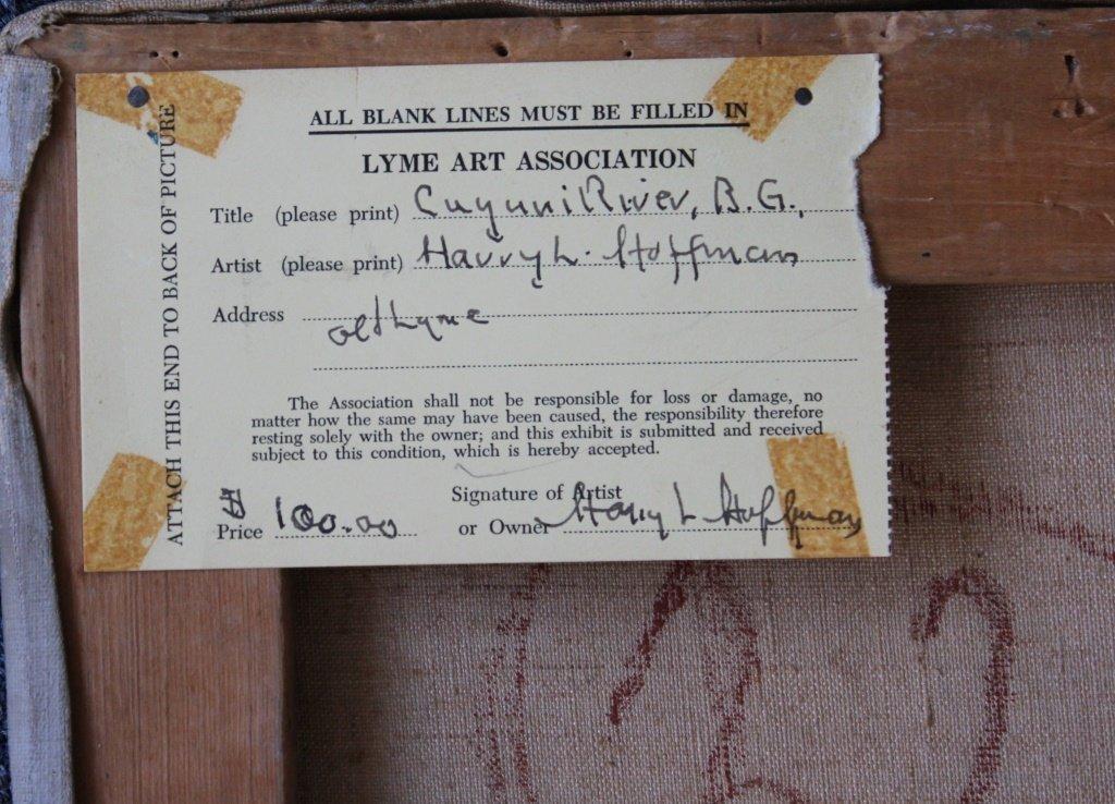 "Harry Hoffman, British Guiana, ""Cuyuni River"" - 5"