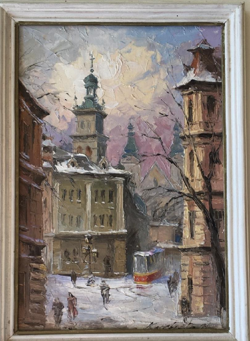 Pair of Russian paintings - 2