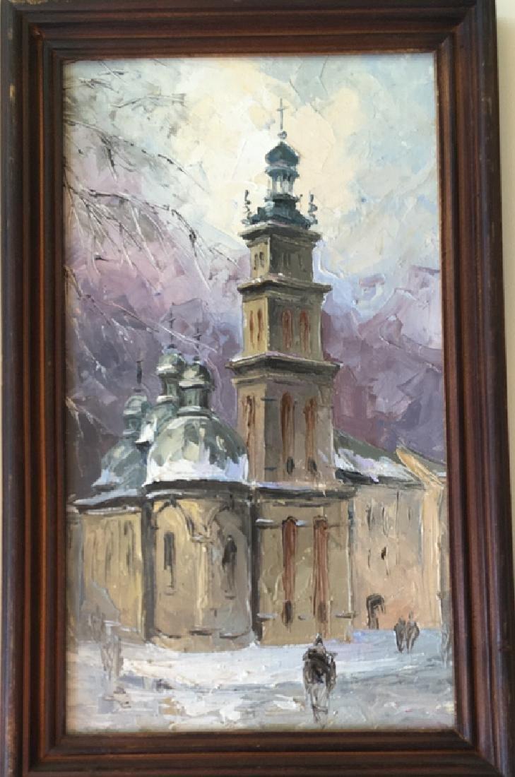 Pair of Russian paintings - 3
