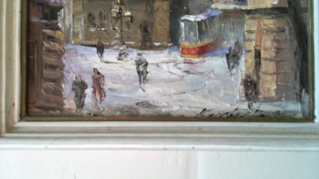 Pair of Russian paintings - 4