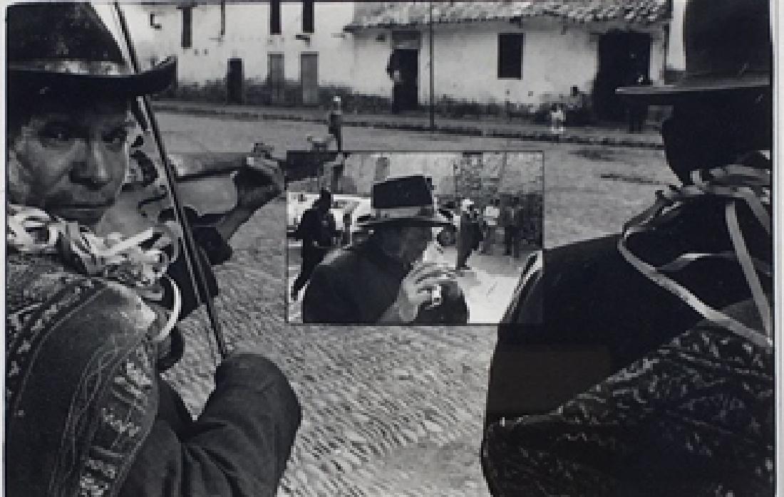 Edmund Granda, Photograph of street musician