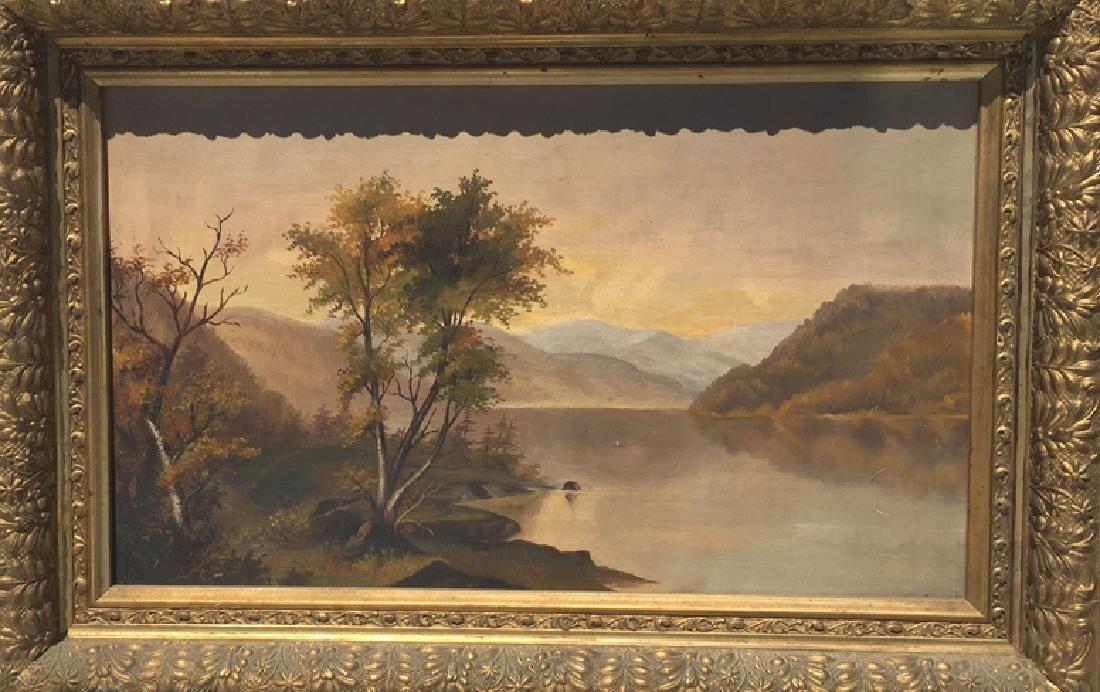 Hudson River landscape - 2