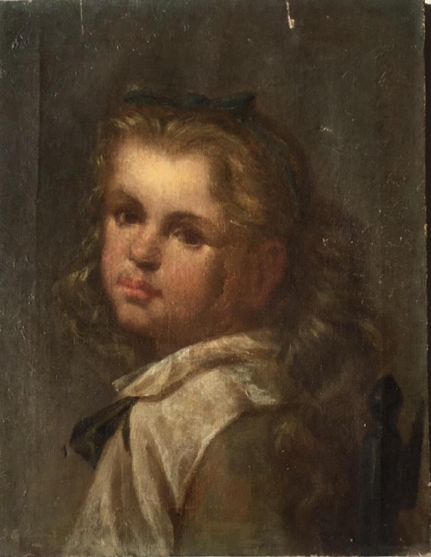 Portrait of a young girl - 2
