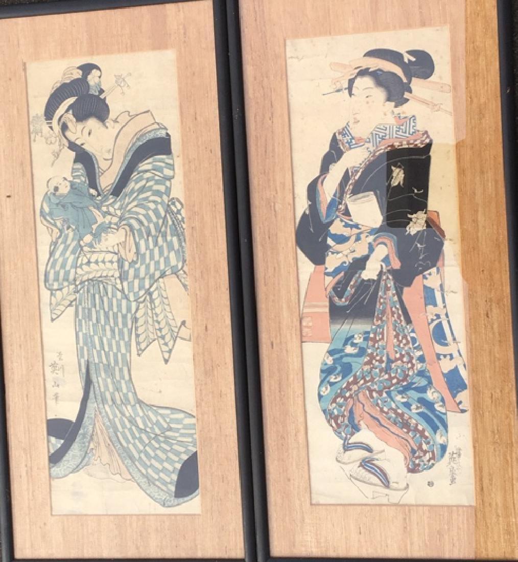 Pair of Geisha prints