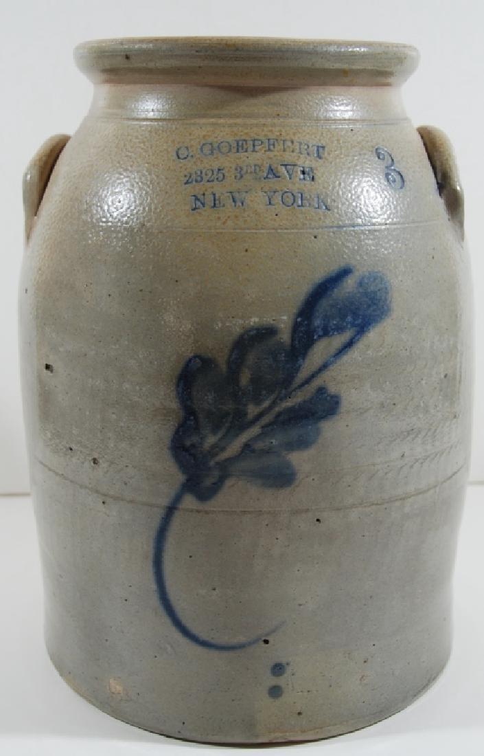 "Stoneware. ""C. Goepfert"