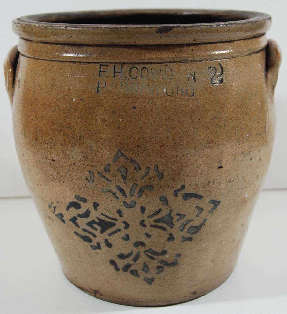 F. H. Cowden, stoneware