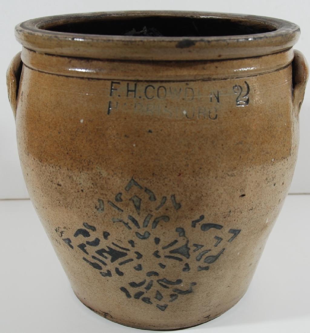 F. H. Cowden, stoneware - 2