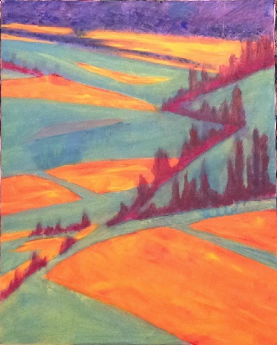 semi abstract landscape