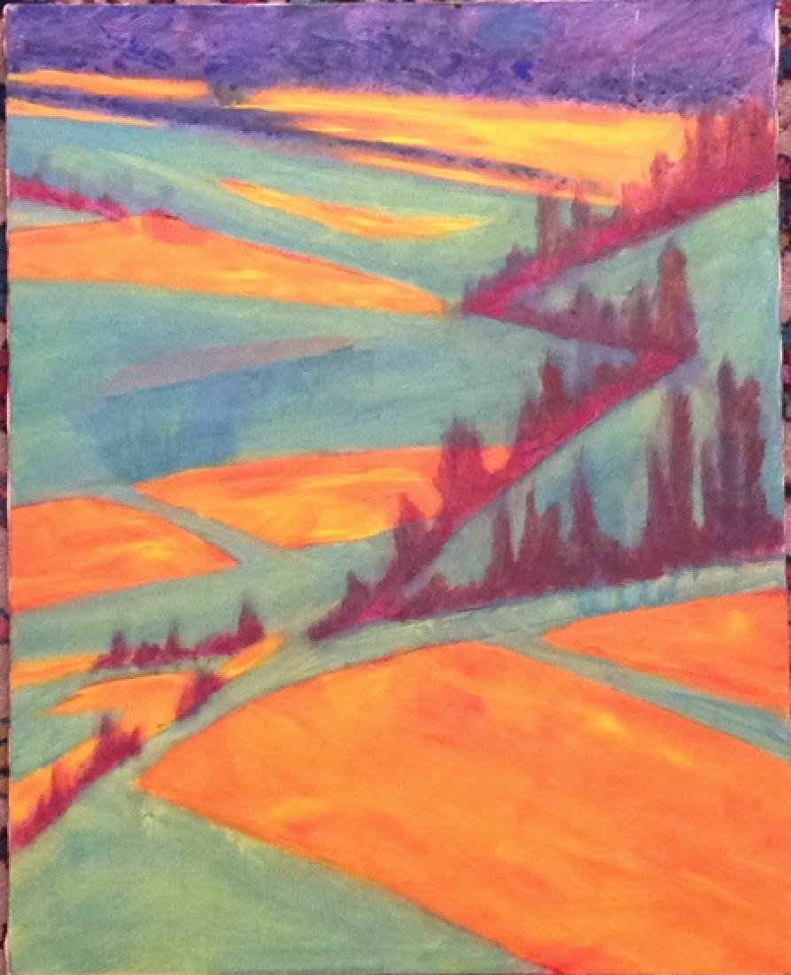 semi abstract landscape - 2