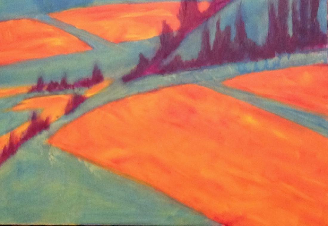semi abstract landscape - 3