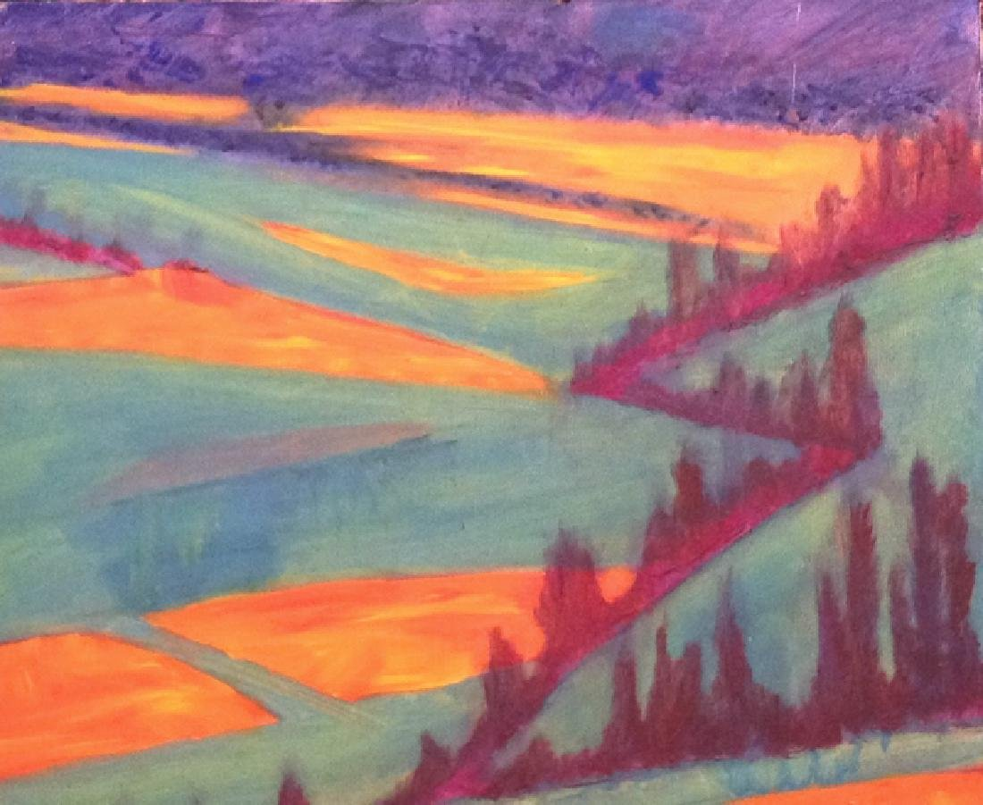 semi abstract landscape - 4