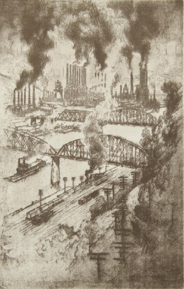 Joseph Pennell - 1 print