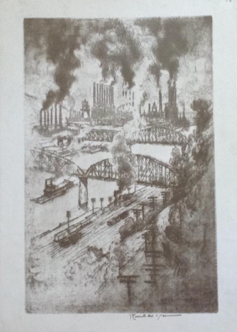Joseph Pennell - 1 print - 2