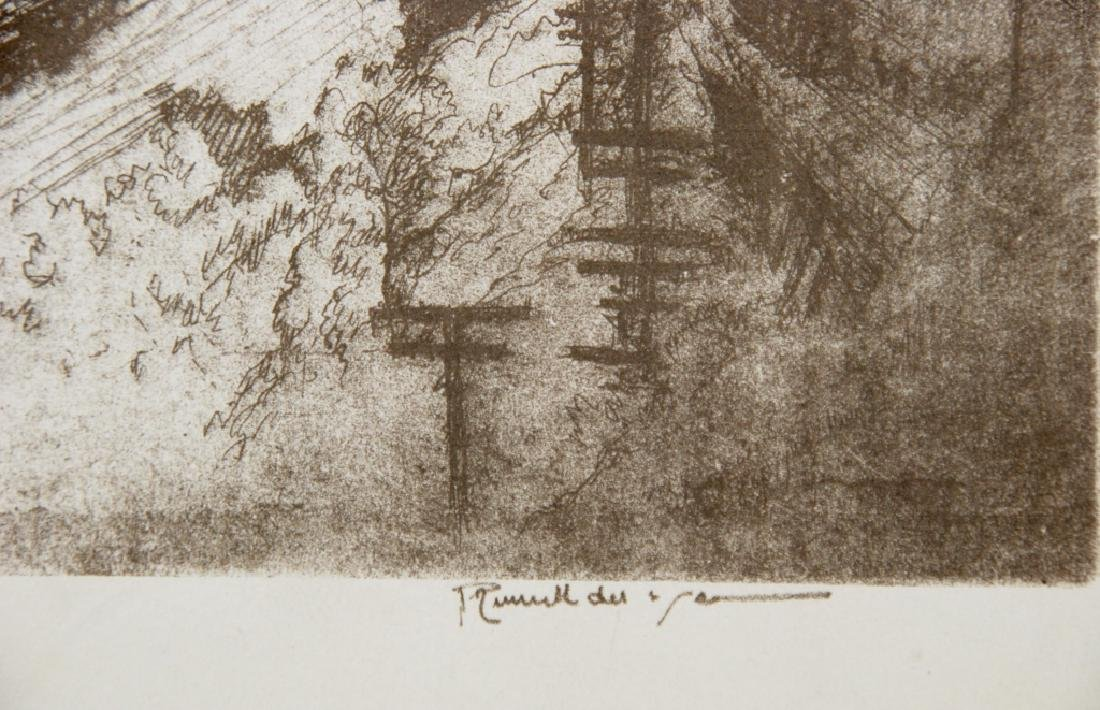 Joseph Pennell - 1 print - 3