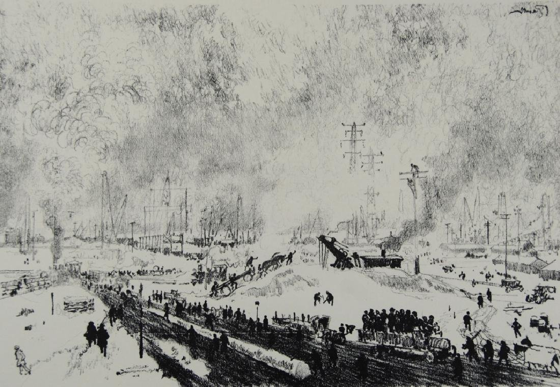 Joseph Pennell - 3 prints