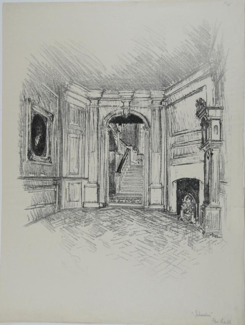 Joseph Pennell - 3 prints - 6