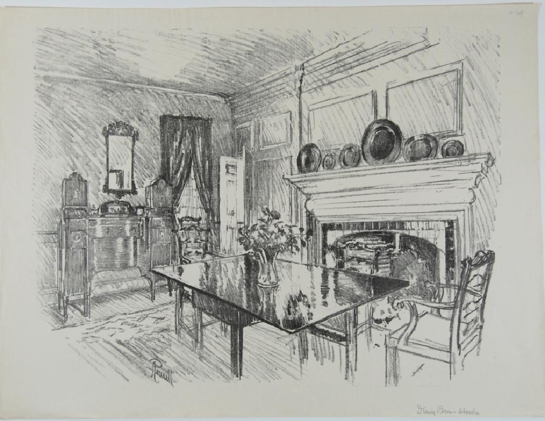 Joseph Pennell - 2 prints - 2