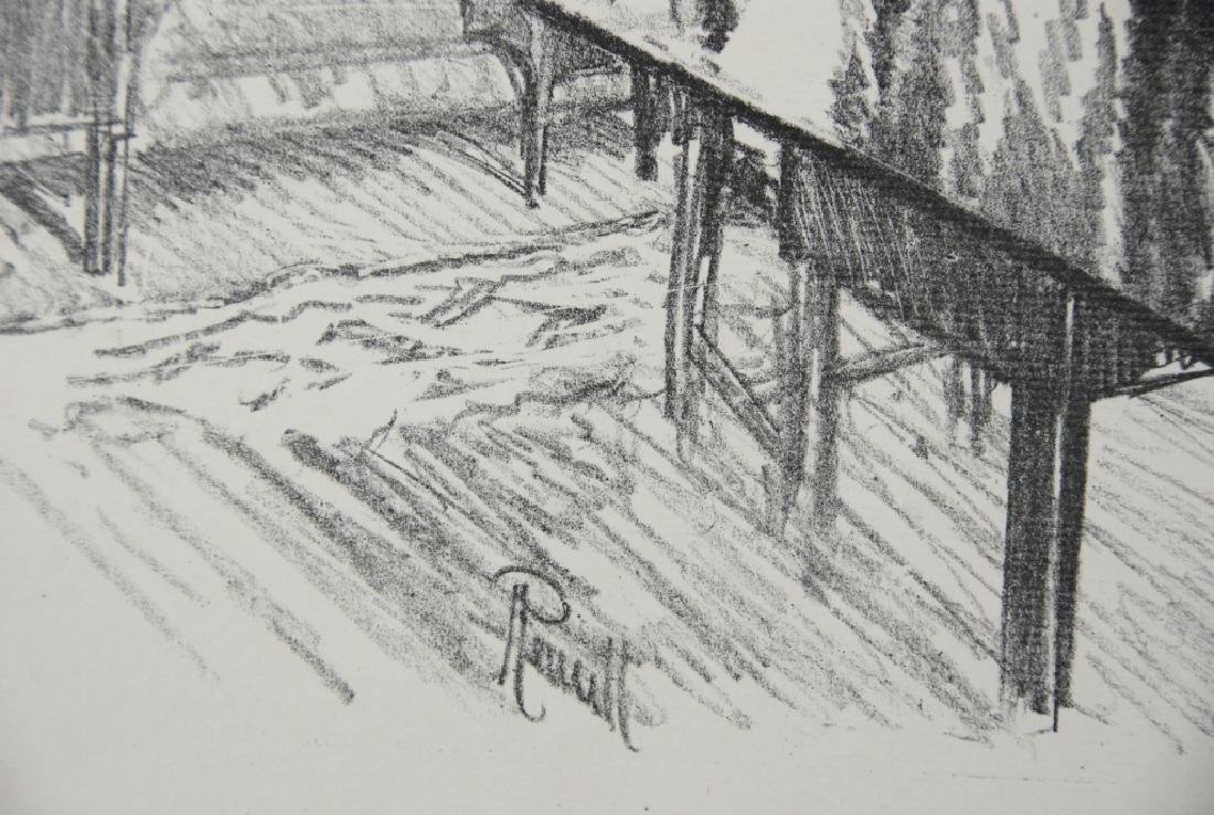 Joseph Pennell - 2 prints - 4