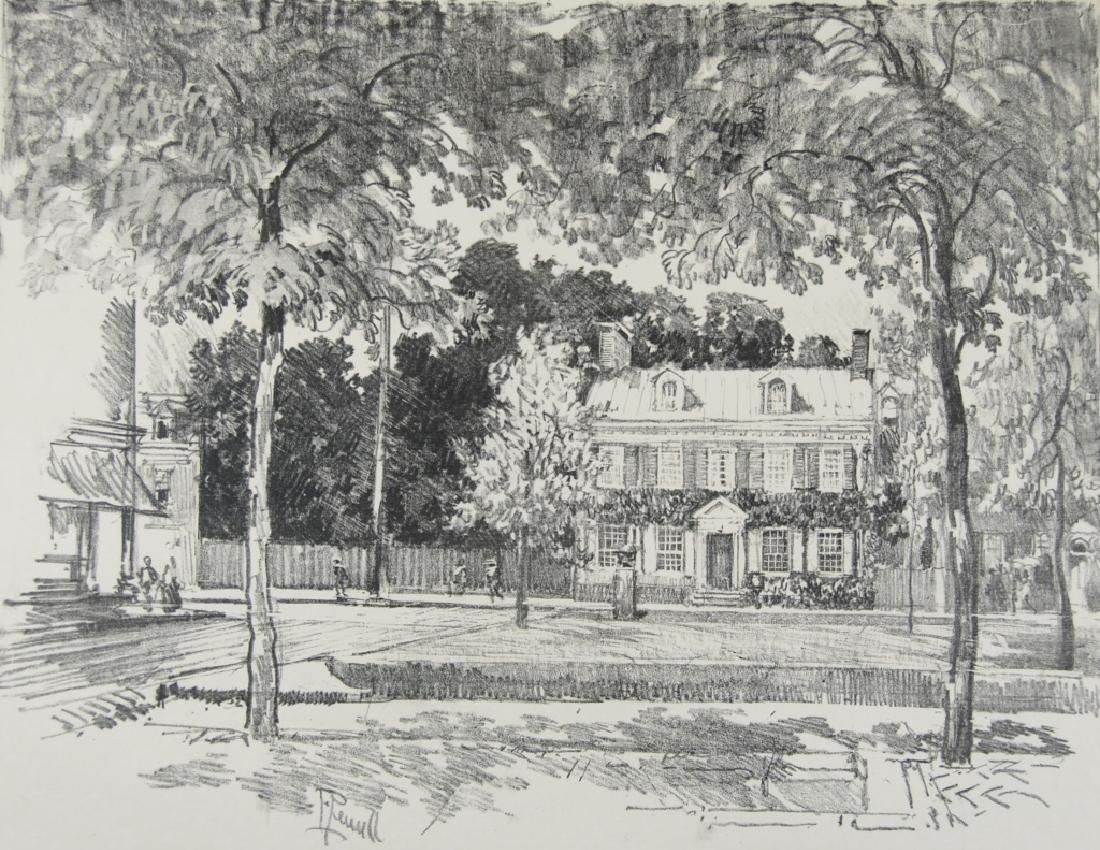 Joseph Pennell - 2 prints - 6
