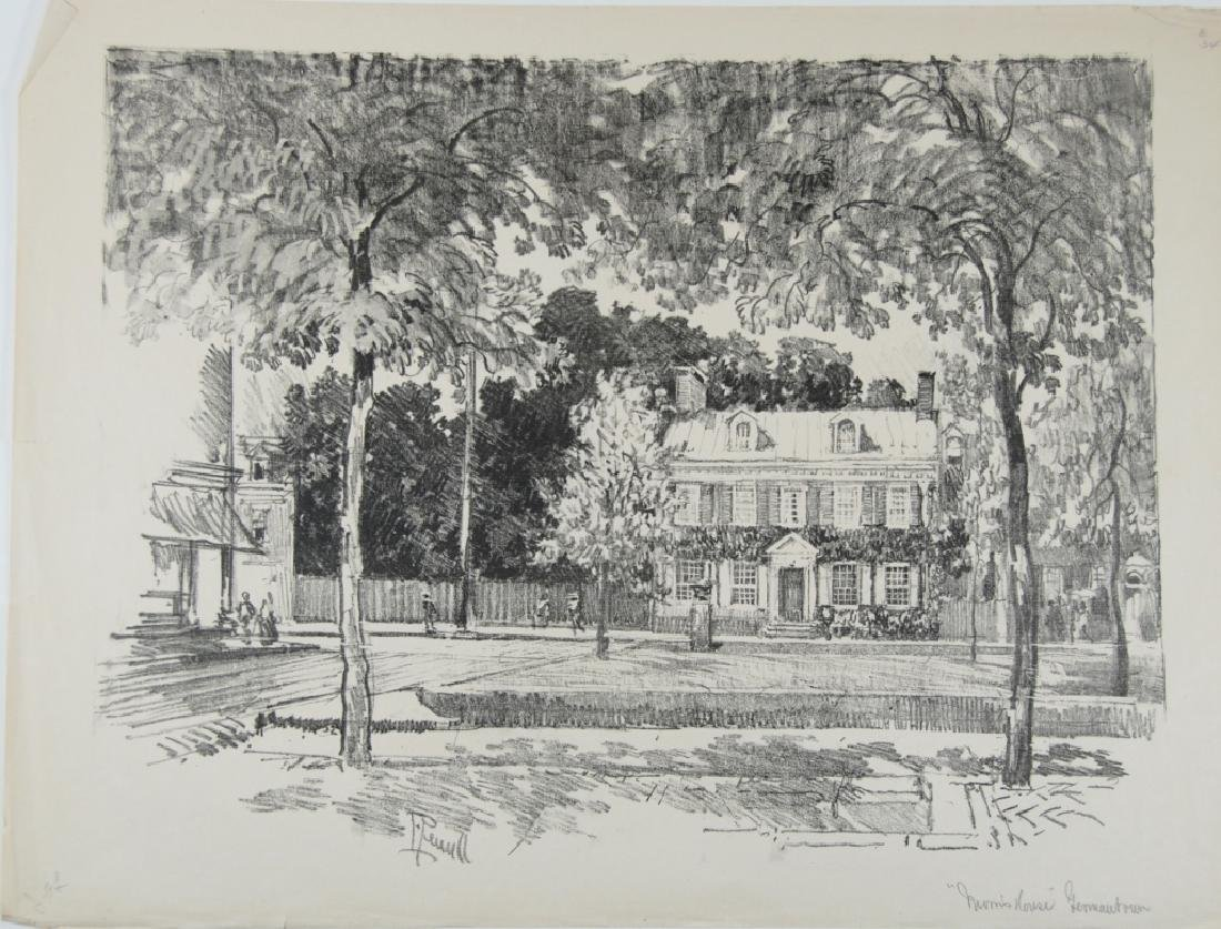 Joseph Pennell - 2 prints - 7