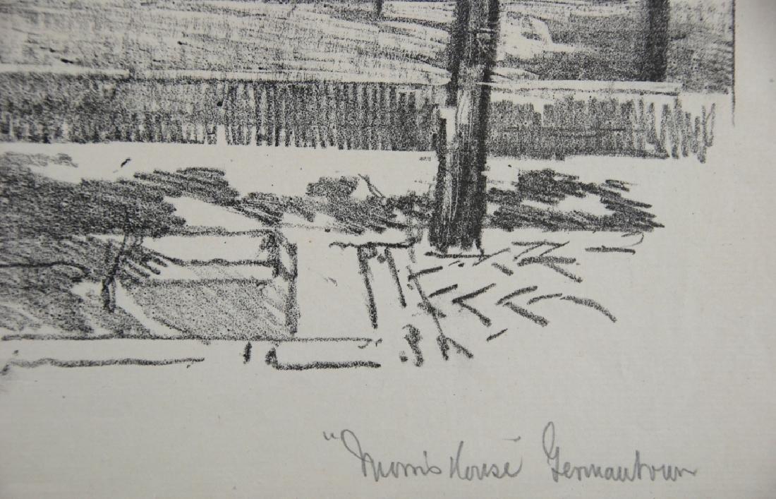 Joseph Pennell - 2 prints - 8