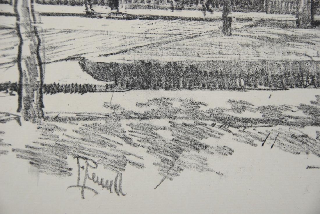 Joseph Pennell - 2 prints - 9