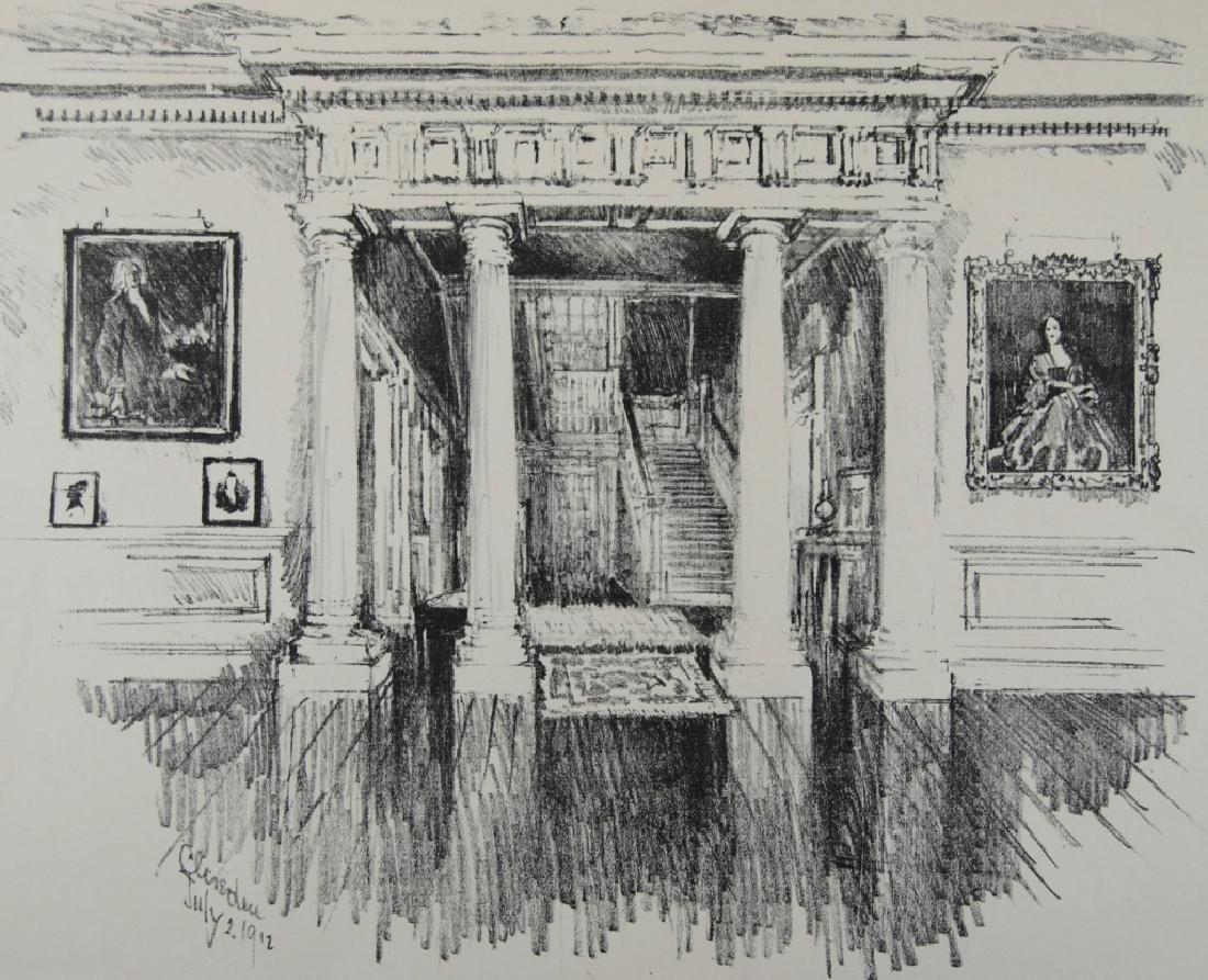 Joseph Pennell- 3 prints